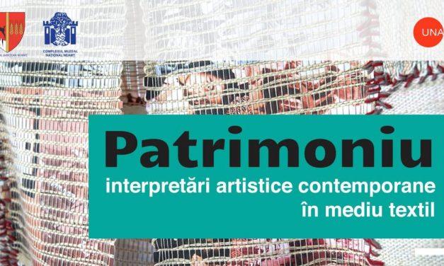 Patrimoniu – interpretări artistice contemporane în mediu textil @ Muzeul de Artă din Piatra Neamț