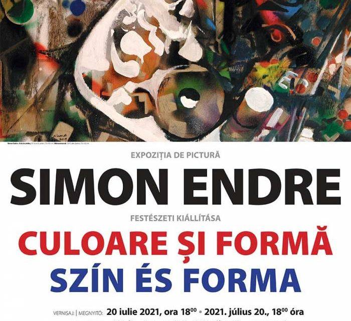 Simon Endre. Culoare și formă @ Muzeul de Artă Cluj-Napoca