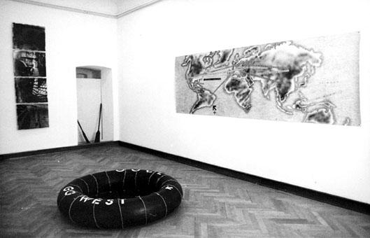 """Expoziţia """"Orient-Occident"""", Muzeul de Artă, Timișoara, 1994"""