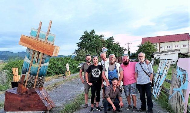 Tabăra Internațională de Sculptură RĂDĂCINI și ARIPI @ Covasna