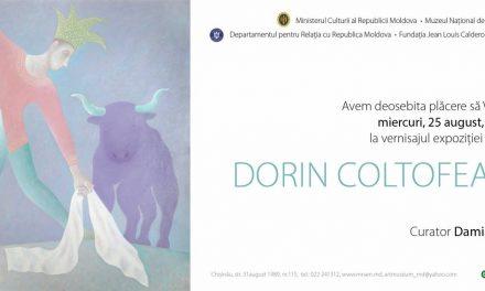 Expoziție Dorin Coltofeanu la Muzeul Naţional de Artă al Moldovei din Chişinău