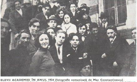 Elevii Academiei libere de pictură, sculptură și arte decorative în anul 1924