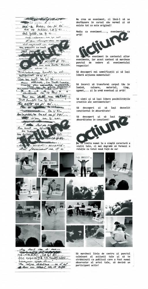 Al. ANTIK_Cine ești Ce ești_happening 1980_foto credit Al. ANTIK