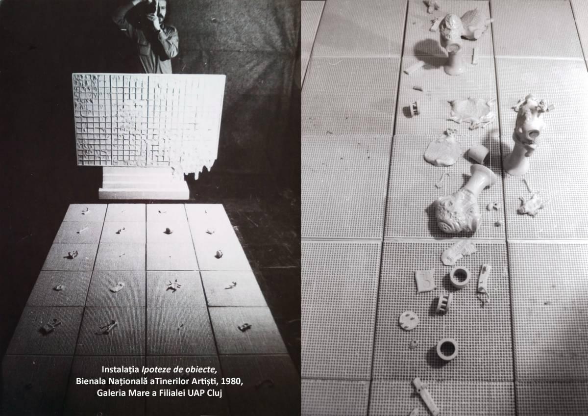 Al. ANTIK_Instal Ipoteze de obiecte Bienala Națională a Tinerilor Artiști 1980 Cluj