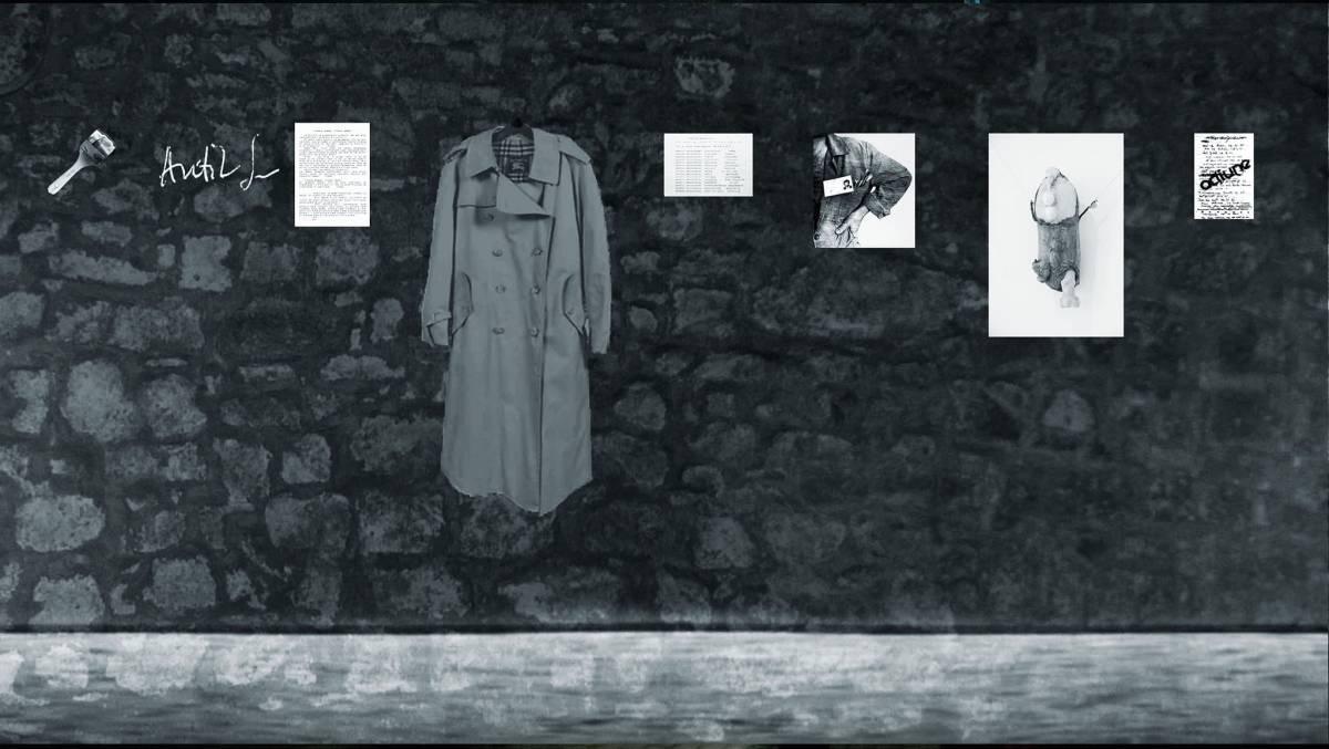Al. ANTIK_film cadru din instalatia multimedia Memoria acțiunii Visul n-a pierit '86