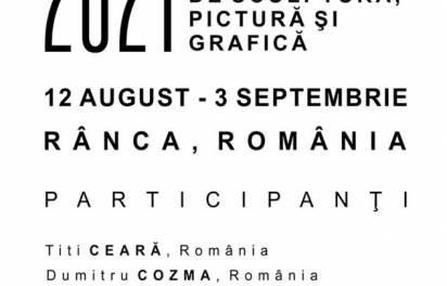 """Atelierele Brâncuși – Simpozionul Internațional de Sculptură, Pictură și Grafică"""" 2021"""