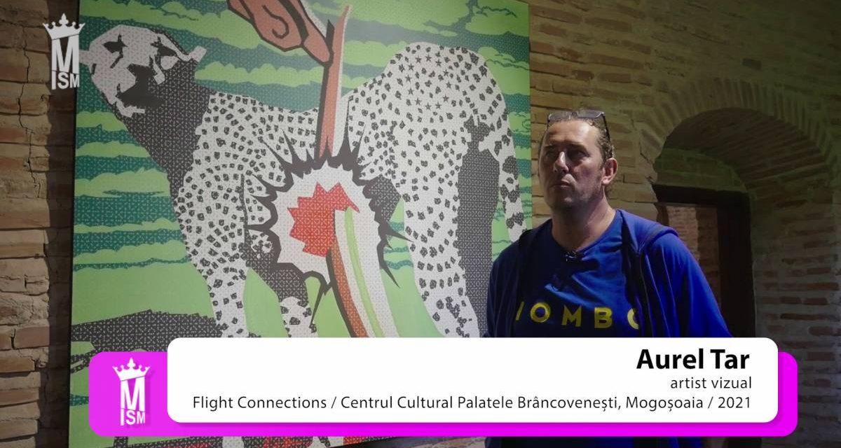 """Aurel Tar """"Flight Connections"""" @ Centrul Cultural Palatele Brâncovenești – Mogoșoaia, 2021"""