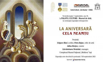 """Expoziție """"LA ANIVERSARĂ"""" – Cela Neamțu @ Muzeul de Artă, Palatul Culturii Iași"""