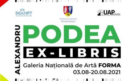 """Expoziție Alexandru Podea """"EX-LIBRIS – sculptură în metal"""" @ Galeria Națională de Artă FORMA, Deva"""