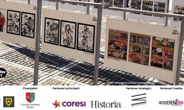 """Apel artiști BD cu tema ,,Frica în istorie!"""" pentru Festivalul Internațional de Benzi Desenate Istorice Brașov 2021"""