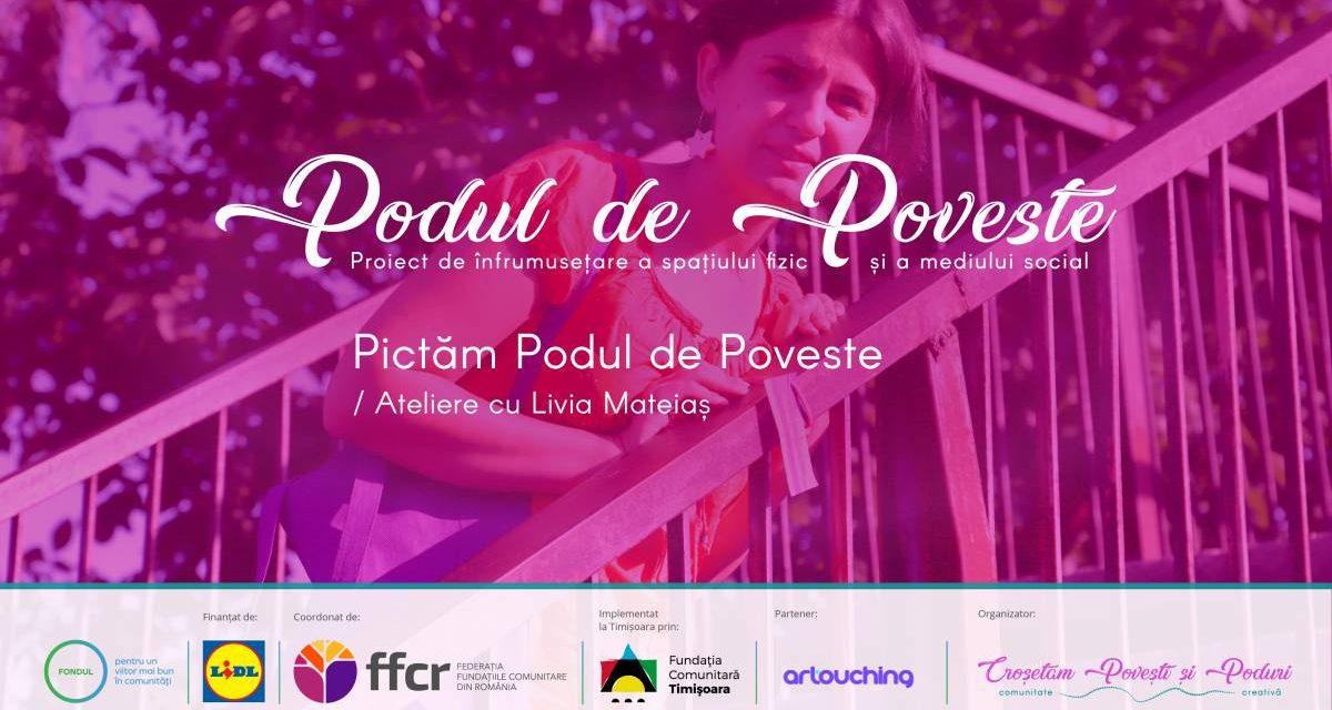 """""""Podul de Poveste"""", proiect de înfrumusețare a Parcului Uzinei de Apă din Timișoara"""