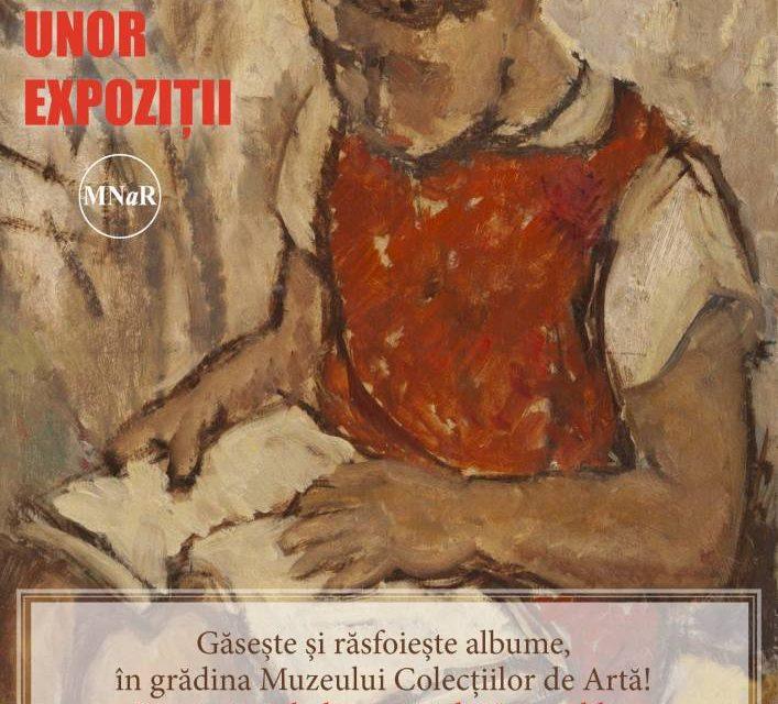 Eveniment la Muzeul Colecțiilor de Artă, PRIN PAGINILE UNOR EXPOZIȚII – un proiect dedicat cititului în aer liber