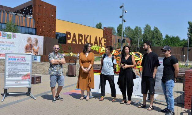 """""""Schimbă viitorul prin artă"""" – expoziție de Sculpturi realizate integral din plastic reciclat @ ParkLake"""