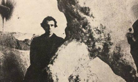 Sculptorul Ion Grigore Popovici în atelierul său