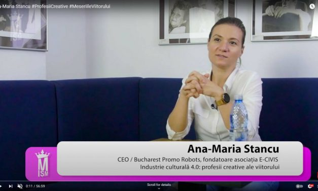 Ana-Maria Stancu #ProfesiiCreative #MeseriileViitorului
