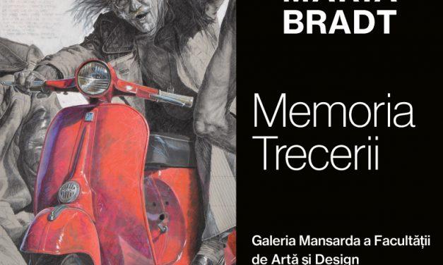 """Expoziția retrospectivăBruno Maria Bradt """"Memoria Trecerii"""" @ Galeria Mansarda a Facultății de Arte și Design – UVT"""