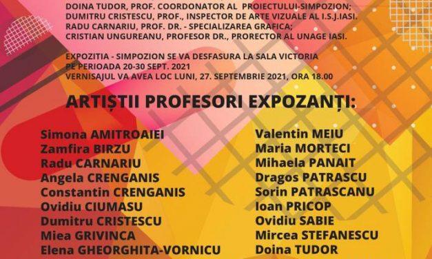 """Expoziție SIMPOZION DIALOGURI VIZUALE @ Galeria de Artă """"VICTORIA"""", iași"""