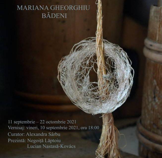 MARIANA GHEORGHIU BĂDENI. Urzeală de ierburi @ Muzeul de Artă Cluj-Napoca