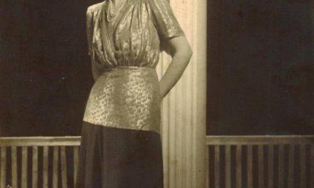 Mimi Şaraga Maxy, în 1948