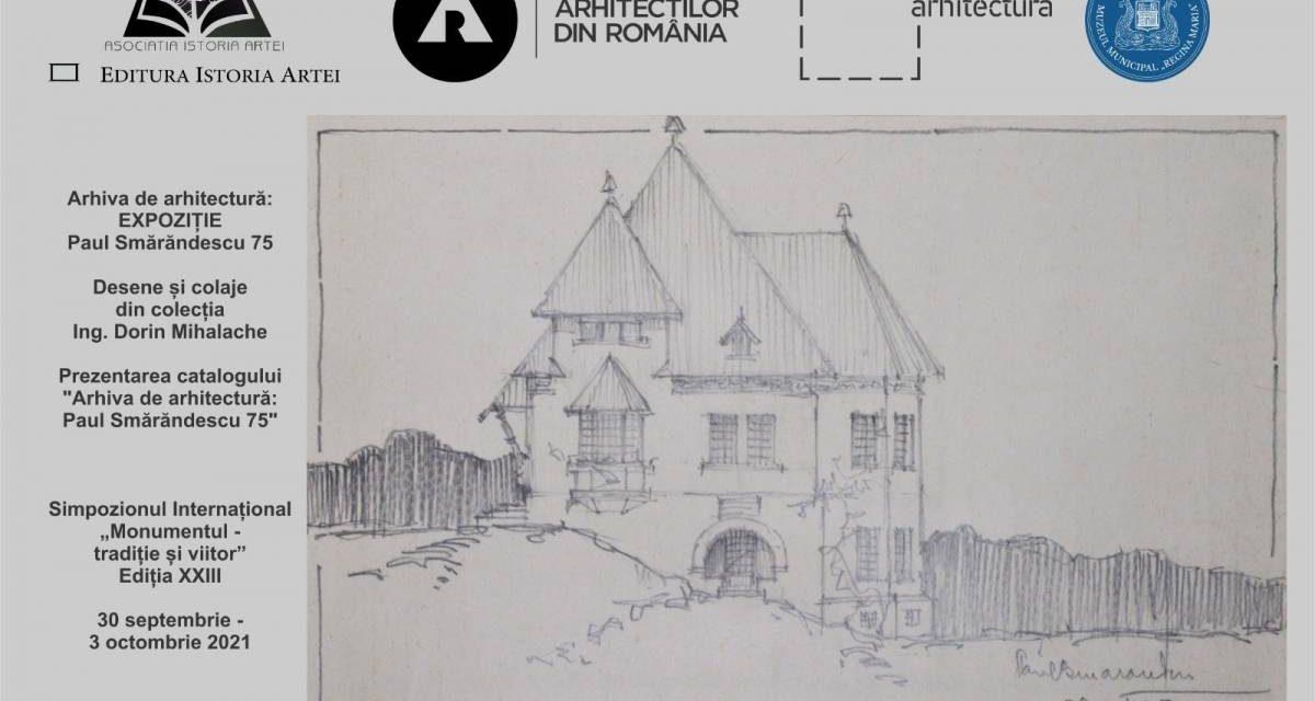 """Itinerarea expoziției """"Paul Smărăndescu 75"""" la Iași și Sinaia"""