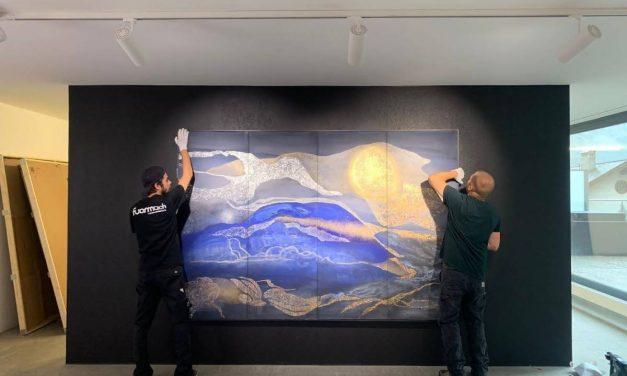 Roland Pangrati Exhibition @ GALERIE 10, St. Moritz, Elveția