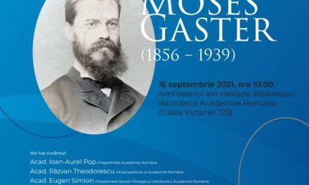 Simpozionul Moses Gaster (1856 – 1939) @ Biblioteca Academiei Române