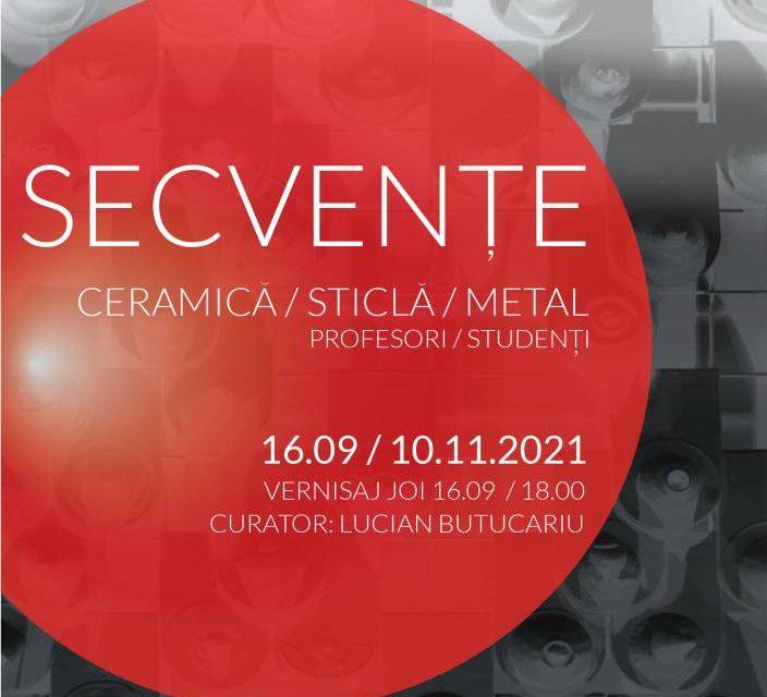 """Expoziția """"Secvențe"""" @ Muzeul de Artă Craiova"""