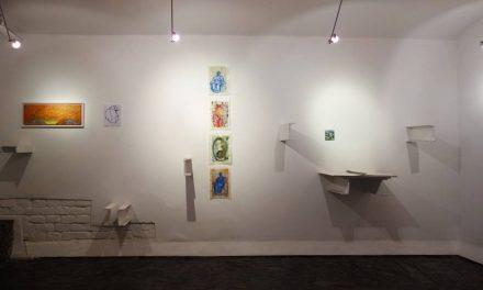 """Expoziție de pictură și grafică Andreea Foanene """"Second Skin"""" la Galleria 28 din Timișoara"""