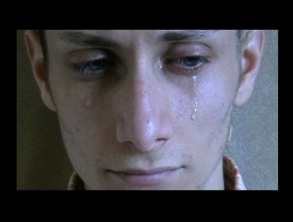 Alex Mirutziu -Tears are Precious - colour video single screen - 2007