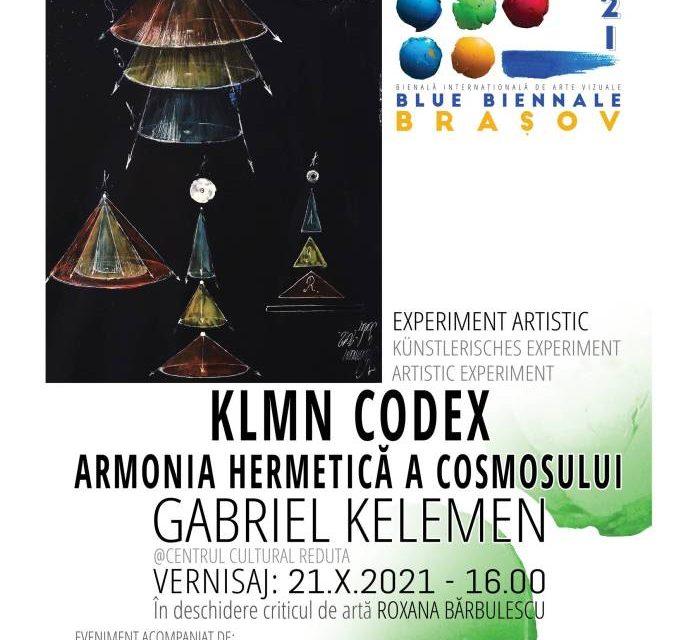 """Expoziție, colocviu proiecție, lansare de carte, Gabriel Kelemen """"KLMN CODEX"""" @ Centrul cultural REDUTA, Brașov"""