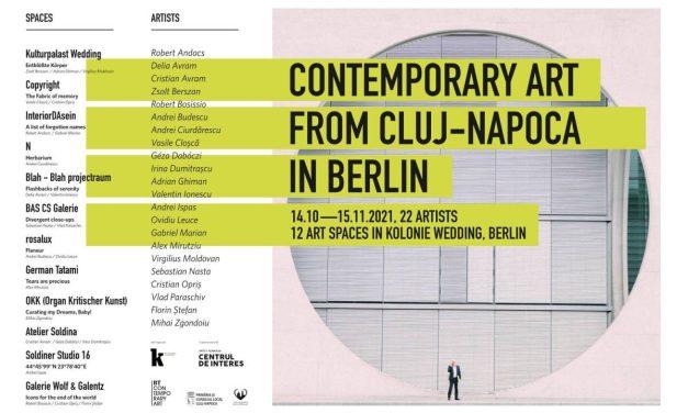 Centrul de Interes expune arta a 22 de artiști la Berlin, în 12 spații de proiecte din cartierul artistic Colonia Wedding