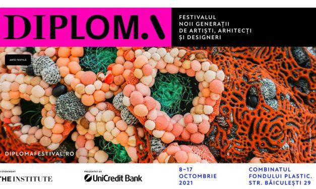 O experiență culturală completă pentru publicul larg: începe DIPLOMA 2021 10 zile de expoziție de artă contemporană în București