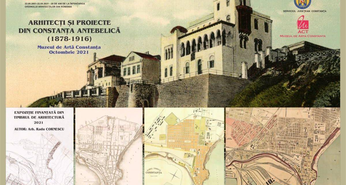Expoziția Arhitecți şi proiecte din perioada antebelică din Constanța (1878-1916) @ Muzeul de Artă din Constanța