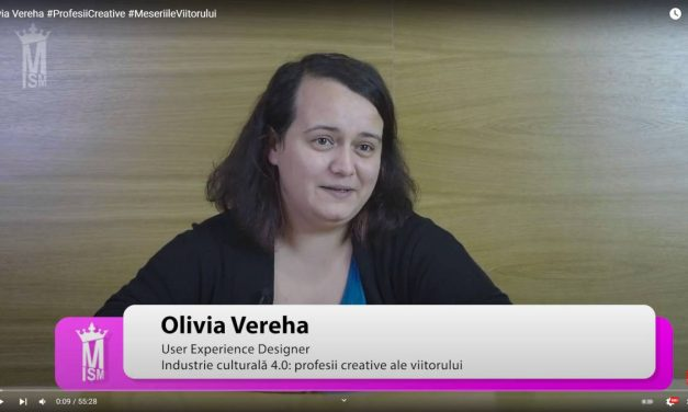 Olivia Vereha #ProfesiiCreative #MeseriileViitorului