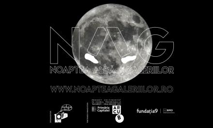 Noaptea Albă a Galeriilor #15: offline în 10 orașe, online în București
